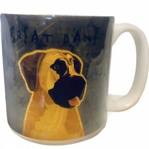 Other - Oversized Great Dane Dog Lover Mug Coffee Cup NWT